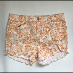 Sapphire Ink Destroyed Jean Short Shorts Size 9